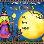 Invitación para fiesta de halloween gratis