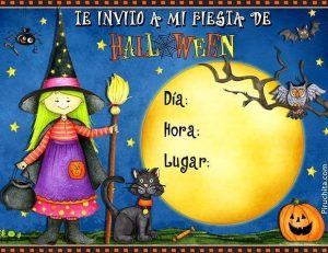 Invitation for free halloween party