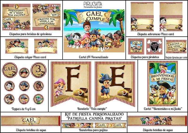 Piruchita presentación web Patrulla piratas tienda