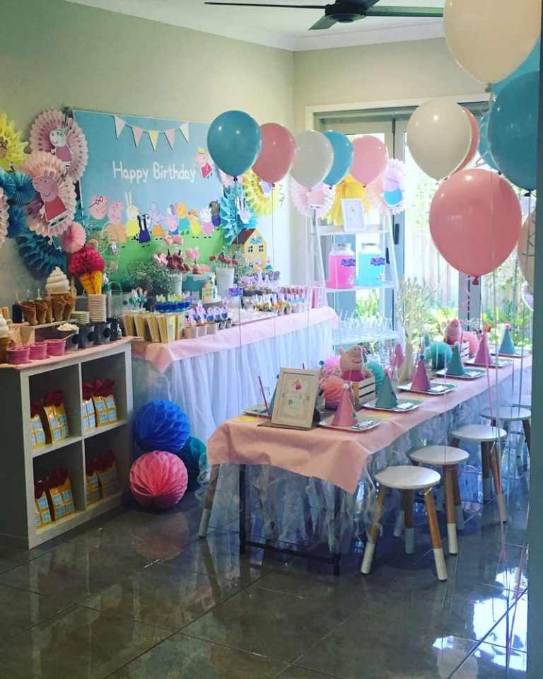 Birthday Party Idea Peppa Pig 1