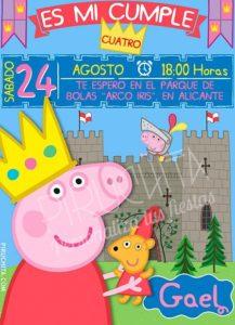 Peppa Pig Birthday Invitation 2019 Free