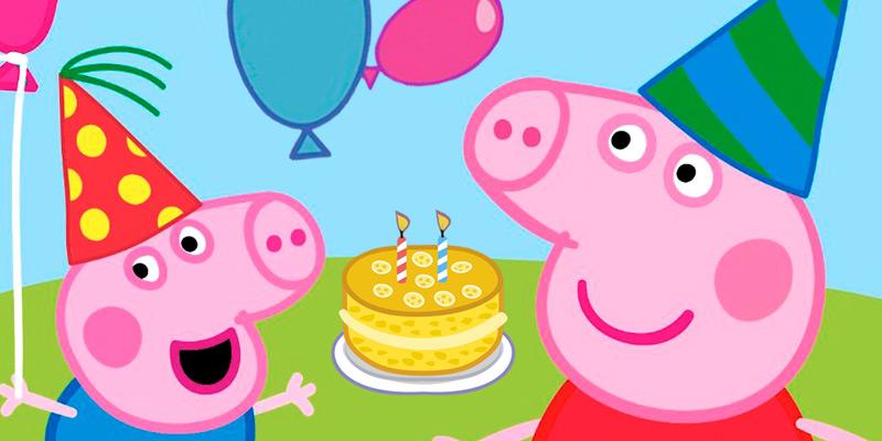Invitación de Peppa Pig