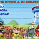 Invitacion Patrulla Canina Piruchita