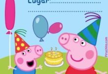 Invitacion Peppa Pig Piruchita