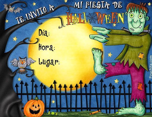 Photo of Invitación para fiesta de halloween 02 – 2019 GRATIS