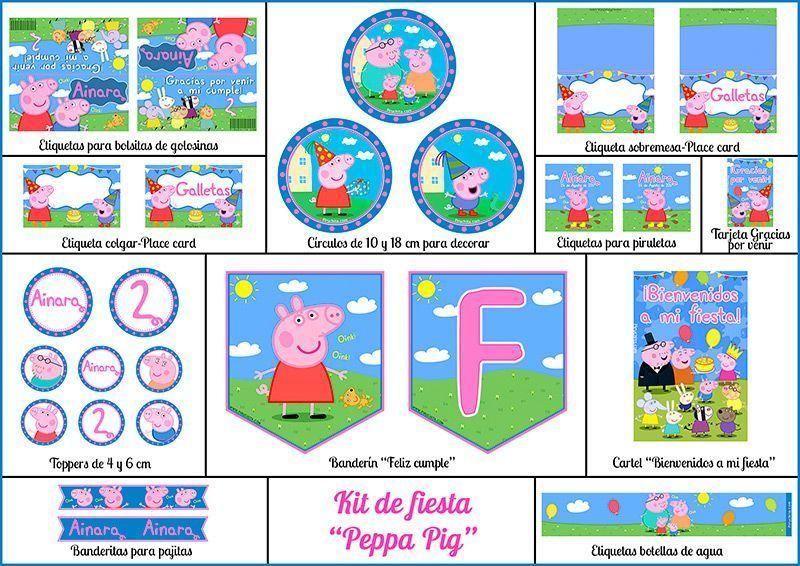 Invitación De Cumpleaños De Peppa Pig 2020 Gratis