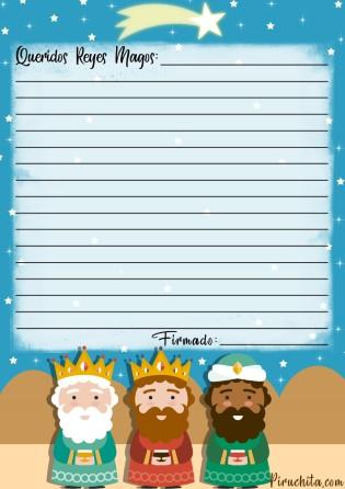 Carta Reyes Gratis Piruchita 3
