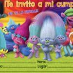 Invitacion Trolls Piruchita