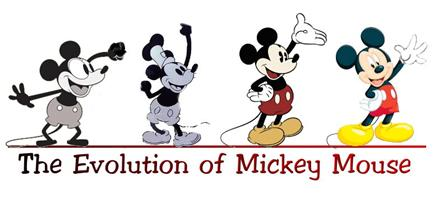 mickey-evolution