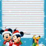 Carta Papa Noel Mickey Piruchita