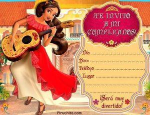 Invitación De Cumpleaños Elena De Avalor 2020 Gratis