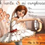 Invitacion Ballerina Piruchita