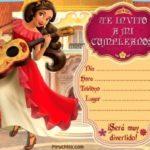 Invitacion Elena Avalor Piruchita