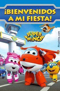 Tarjeta Bienvenido a mi cumpleaños de Super Wings