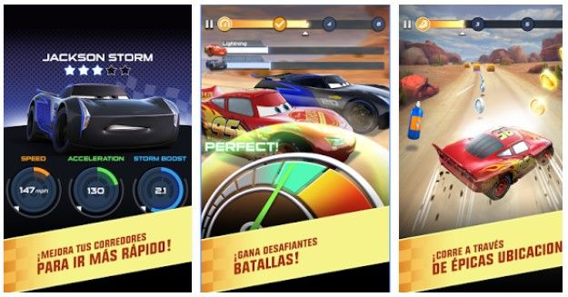 Cars 3 game for Android Free