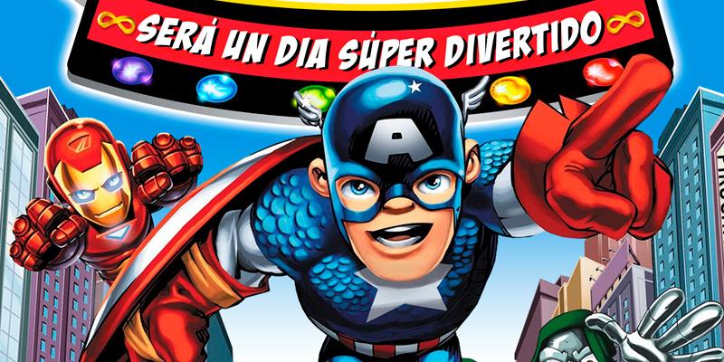 Invitación de Superheroes