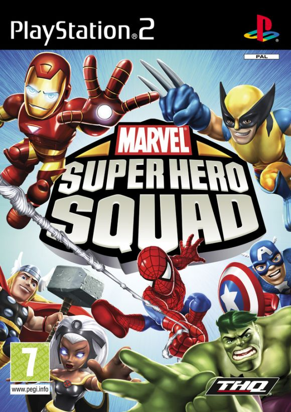 Home Video Game Superheroes Squad PS2