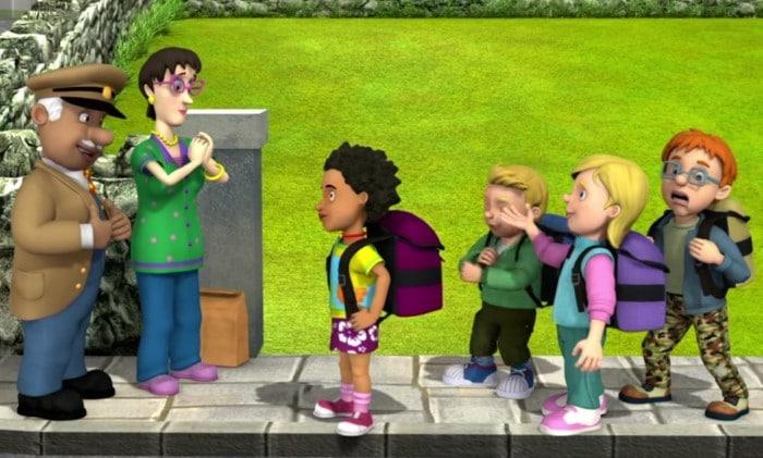 Personajes Niños de Sam el Bombero