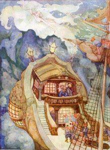 Ilustración del libro original La Sirenita