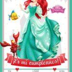 Invitacion Cumpleanos La Sirenita Gratis Piruchita