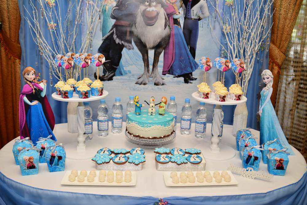 decoracion fiesta frozen - 2