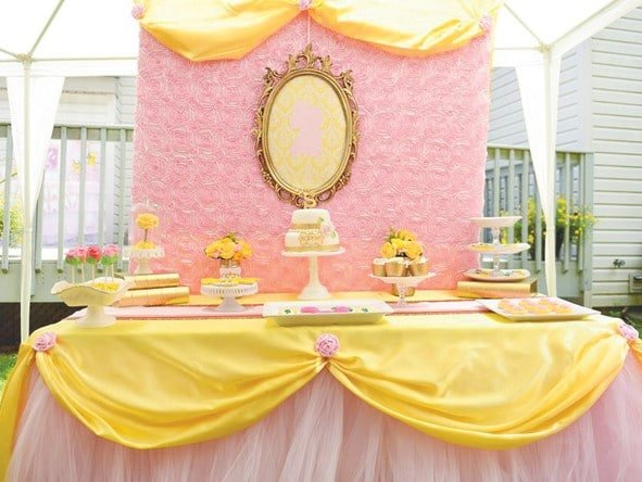 Sweet table Beauty and the Beast