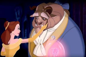 Animated film of Beauty and Beast