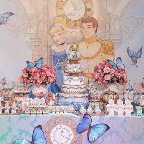 Ideas for Cinderella's birthday party