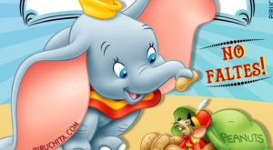 FREE Dumbo Birthday Invitation