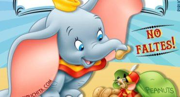 🐘 Invitación de Cumpleaños de Dumbo de Disney – GRATIS