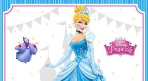 Cinderella Birthday Invitation for FREE
