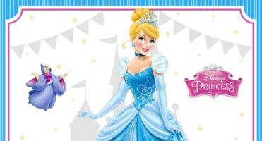 👸🏼 Invitación Cumpleaños Cenicienta – Princesas – GRATIS