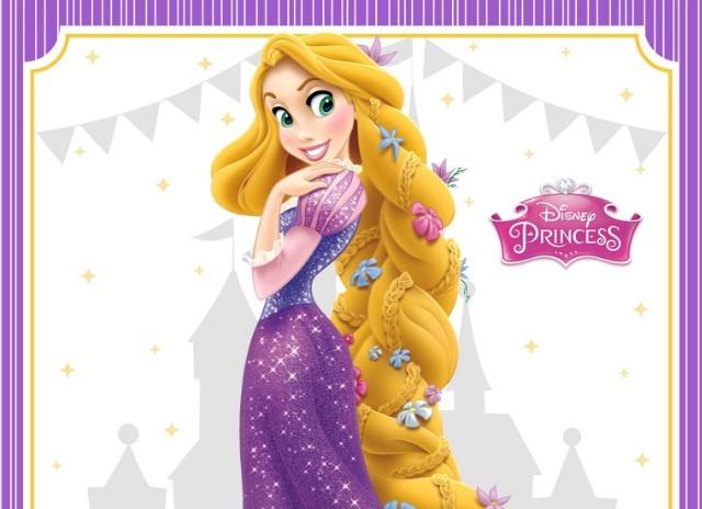 Invitación Cumpleaños De Rapunzel Enredados Gratis