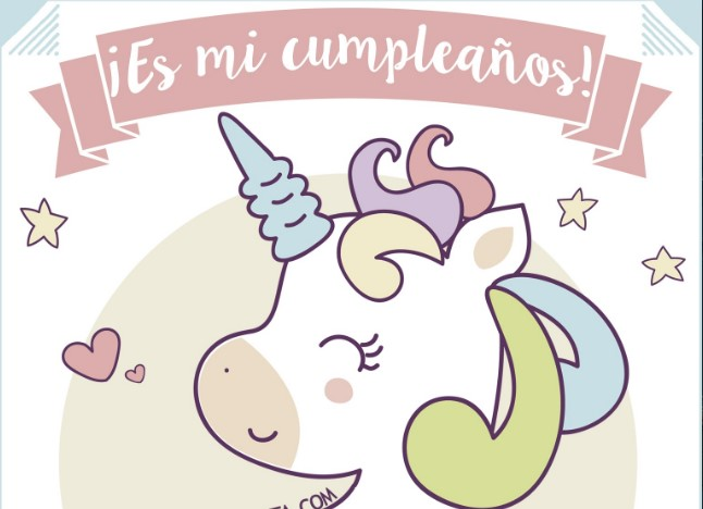 free customizable unicorn birthday invitation