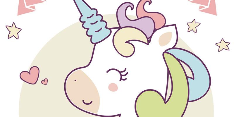 Invitación de unicornio