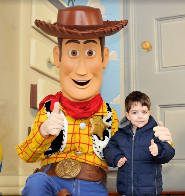 Woody En Disney Land Paris