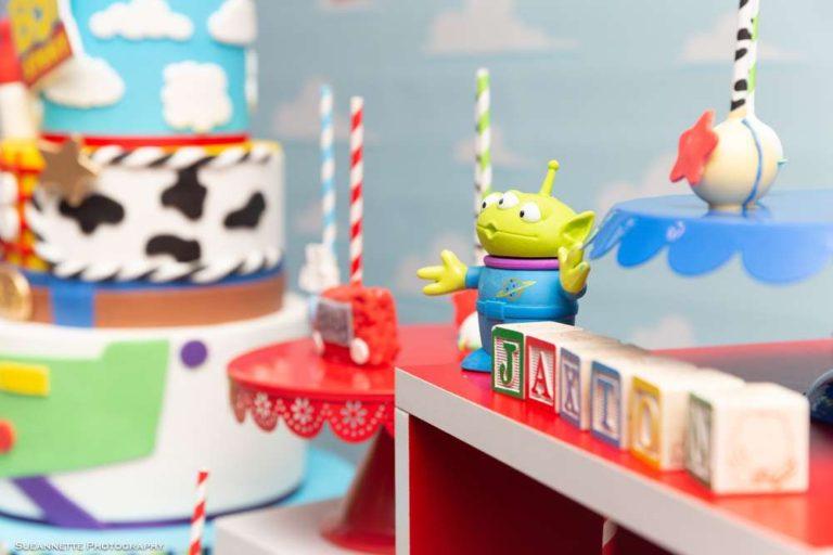 Invitación Cumpleaños Toy Story 4 Woody Buzz Betty Forky