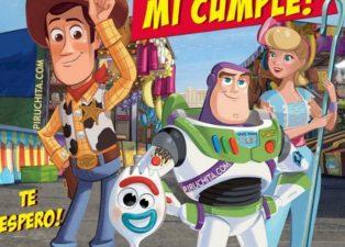 Invitacion Cumpleanos Toy Story Gratis Piruchita Thumb