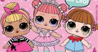 👧🏻 Dolls Birthday Invitation LOL Surprise! - FREE
