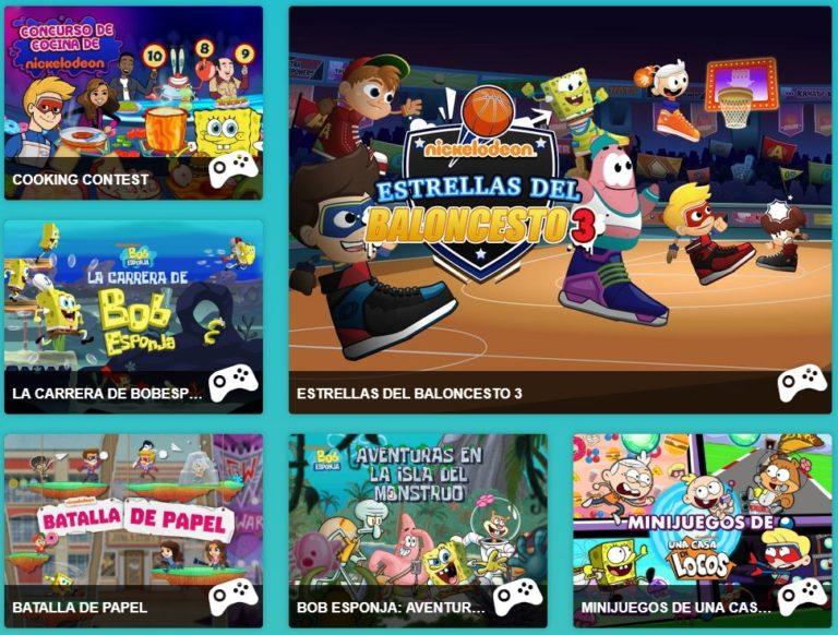 SpongeBob Online Games