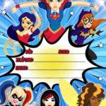Invitacion Cumpleanos Superhero Girls Gratis Piruchita