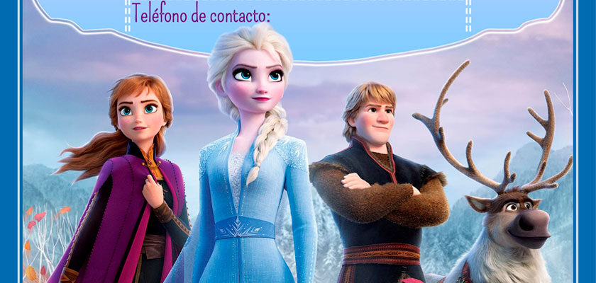 Invitación de Frozen 2