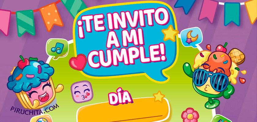 Invitación de Mojipops